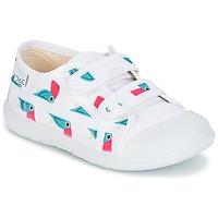 Παπούτσια Κορίτσι Χαμηλά Sneakers Citrouille et Compagnie RIVIALELLE Άσπρο