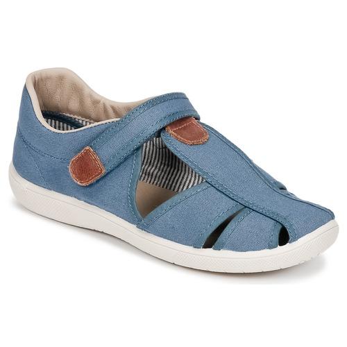 Παπούτσια Αγόρι Σανδάλια / Πέδιλα Citrouille et Compagnie GUNCAL Μπλέ