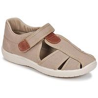 Παπούτσια Αγόρι Σανδάλια / Πέδιλα Citrouille et Compagnie GUNCAL Beige