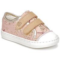 Παπούτσια Κορίτσι Χαμηλά Sneakers Citrouille et Compagnie INACUFI Ροζ / Gold