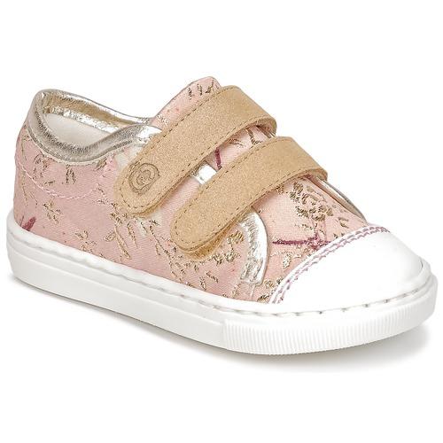 Παπούτσια Κορίτσι Χαμηλά Sneakers Citrouille et Compagnie JORDANIA Ροζ / Gold