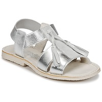 Παπούτσια Κορίτσι Σανδάλια / Πέδιλα Citrouille et Compagnie INAPLATA Silver