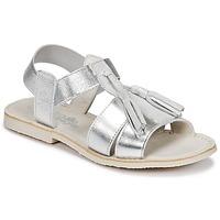 Παπούτσια Κορίτσι Σανδάλια / Πέδιλα Citrouille et Compagnie INAPLATA Argenté