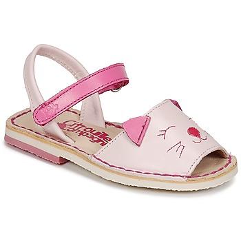 Παπούτσια Κορίτσι Σανδάλια / Πέδιλα Citrouille et Compagnie ILOUDFI Ροζ