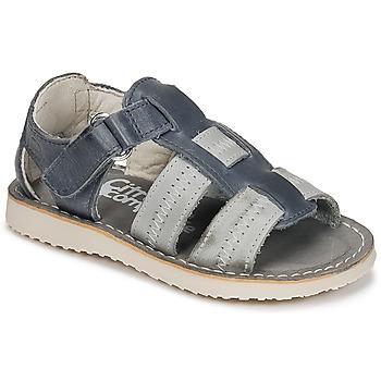 Παπούτσια Αγόρι Σανδάλια / Πέδιλα Citrouille et Compagnie IOUTIKER Μπλέ / Grey