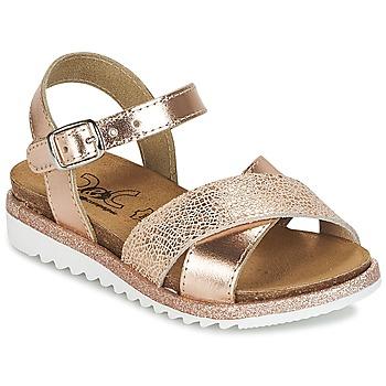 Παπούτσια Κορίτσι Σανδάλια / Πέδιλα Citrouille et Compagnie GAUFRETTE Bronze