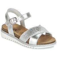 Παπούτσια Κορίτσι Σανδάλια / Πέδιλα Citrouille et Compagnie IZOEGL Argenté