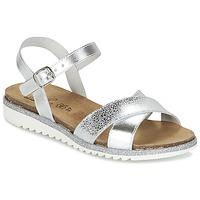 Παπούτσια Κορίτσι Σανδάλια / Πέδιλα Citrouille et Compagnie GAUFRETTE Argenté