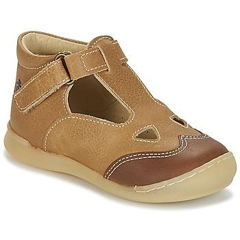 Παπούτσια Αγόρι Σανδάλια / Πέδιλα Citrouille et Compagnie IARTIALAN Brown