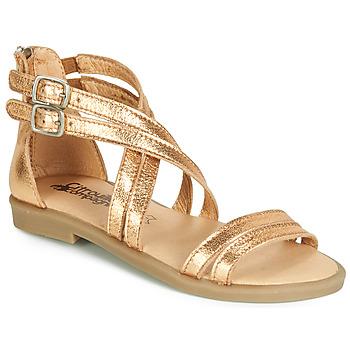 98f07f6c2f8 Παπούτσια Κορίτσι Σανδάλια / Πέδιλα Citrouille et Compagnie IMOURAT Gold