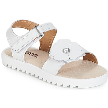 Παπούτσια Κορίτσι Σανδάλια / Πέδιλα Citrouille et Compagnie ILODO Άσπρο