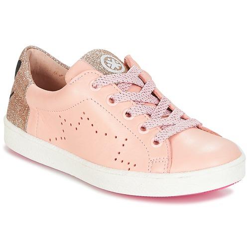 Παπούτσια Κορίτσι Χαμηλά Sneakers Acebo's VEMULTIT Ροζ