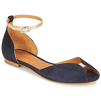 Παπούτσια Γυναίκα Σανδάλια / Πέδιλα Emma Go JULIETTE Marine / Gold