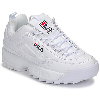 Παπούτσια Γυναίκα Χαμηλά Sneakers Fila DISRUPTOR LOW WMN Άσπρο