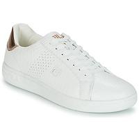 Παπούτσια Γυναίκα Χαμηλά Sneakers Fila CROSSCOURT 2 F LOW WMN Άσπρο / Ροζ / Χρυσο