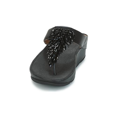 CHA-CHA TOE-THONG SANDALS CRYSTAL  FitFlop  σαγιονάρες  woman  black