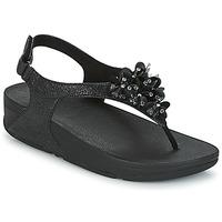 Παπούτσια Γυναίκα Σανδάλια / Πέδιλα FitFlop BOOGALOO BACK STRAP SANDAL Black