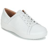Παπούτσια Γυναίκα Χαμηλά Sneakers FitFlop F-SPORTY II LACE UP SNEAKERS Άσπρο
