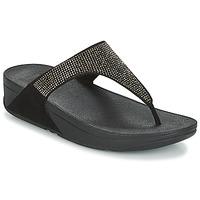 Παπούτσια Γυναίκα Σαγιονάρες FitFlop SLINKY ROKKIT Black