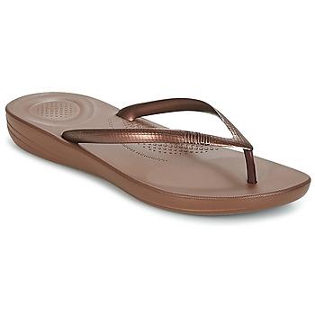 Παπούτσια Γυναίκα Σαγιονάρες FitFlop IQUSHION ERGONOMIC FLIP FLOPS Bronze