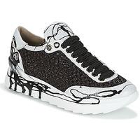 Παπούτσια Γυναίκα Χαμηλά Sneakers Now CARK Black / Άσπρο