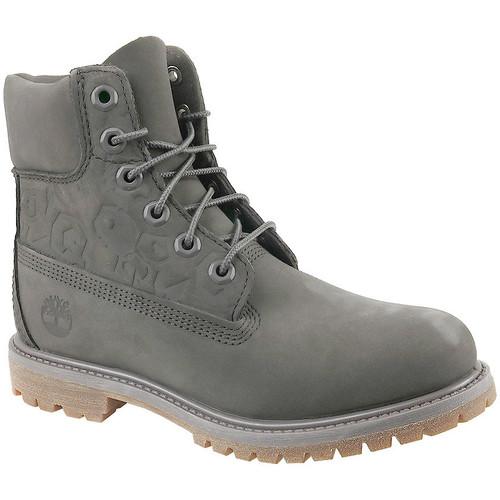 Παπούτσια Γυναίκα Μποτίνια Timberland 6 In Premium Boot W Grise