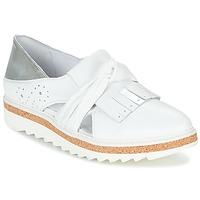 Παπούτσια Γυναίκα Μοκασσίνια Regard RASTAFA Άσπρο / Silver