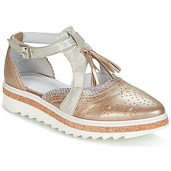 Παπούτσια Γυναίκα Derby Regard RASTANU Bronze