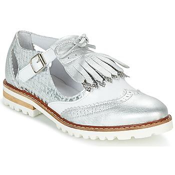 Παπούτσια Γυναίκα Derby Regard RETAZO Άσπρο / Argenté