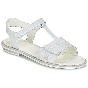 Παπούτσια Κορίτσι Σανδάλια / Πέδιλα Geox J S.GIGLIO A Άσπρο