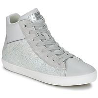Παπούτσια Κορίτσι Ψηλά Sneakers Geox J KILWI G. H Grey / Silver
