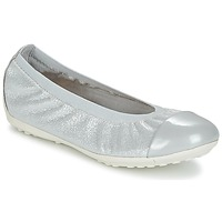Παπούτσια Κορίτσι Μπαλαρίνες Geox J PIUMA BAL A Grey / Silver
