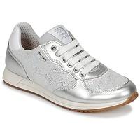 Παπούτσια Κορίτσι Χαμηλά Sneakers Geox J JENSEA G. D Grey / Silver