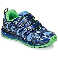 Παπούτσια Αγόρι Χαμηλά Sneakers Geox J ANDROID B. B Marine / Green