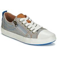 Παπούτσια Αγόρι Χαμηλά Sneakers Geox J ALONISSO B. D Grey / Μπλέ