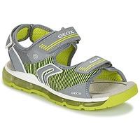 Παπούτσια Αγόρι Σπορ σανδάλια Geox J S.ANDROID B.A Grey / Green