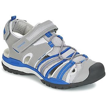Παπούτσια Αγόρι Σπορ σανδάλια Geox J BOREALIS B. C Grey / Μπλέ