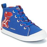 Παπούτσια Αγόρι Ψηλά Sneakers Geox B KILWI B. F Μπλέ / Red