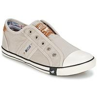 Παπούτσια Γυναίκα Χαμηλά Sneakers Mustang NAJERILLA Grey /  clair