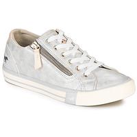 Παπούτσια Γυναίκα Χαμηλά Sneakers Mustang JOBARIK Silver