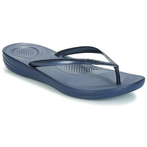 Παπούτσια Γυναίκα Σαγιονάρες FitFlop IQUSHION ERGONOMIC FLIP-FLOPS Μπλέ