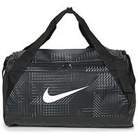 Τσάντες Αθλητικές τσάντες Nike BRASILIA SMALL Black / Άσπρο
