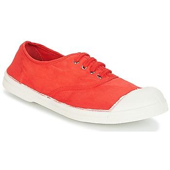 Παπούτσια Γυναίκα Χαμηλά Sneakers Bensimon TENNIS LACET Κοκκινο