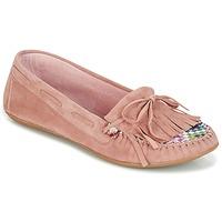 Παπούτσια Γυναίκα Μοκασσίνια Ippon Vintage MOC-WAX-ROSE Ροζ