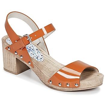 Παπούτσια Γυναίκα Σανδάλια / Πέδιλα Ippon Vintage SOK COLORS Orange