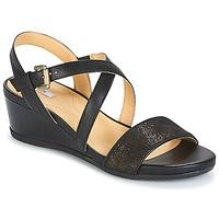 Παπούτσια Γυναίκα Σανδάλια / Πέδιλα Geox MARYKARMEN A Black