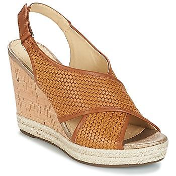 Παπούτσια Γυναίκα Σανδάλια / Πέδιλα Geox JANIRA C Brown