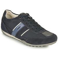 Παπούτσια Άνδρας Χαμηλά Sneakers Geox U WELLS C Μπλέ