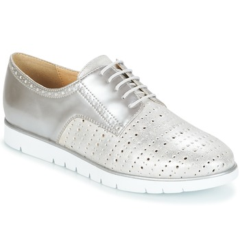 Παπούτσια Γυναίκα Derby Geox KOOKEAN Silver