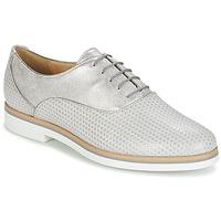 Παπούτσια Γυναίκα Derby Geox JANALEE A Grey / Άσπρο